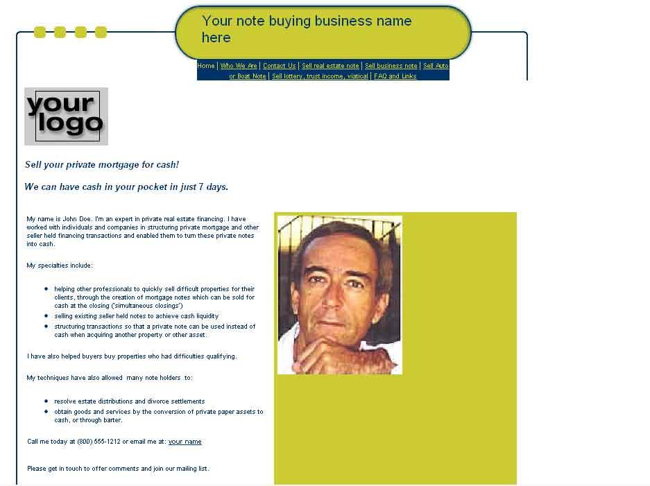 note brokers note buyers web sites